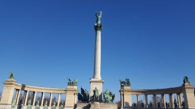 Budapešť a Tropikárium 2020 I.