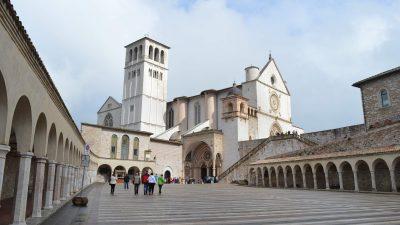 Assisi a Rím v pôstnom období