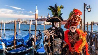 Karneval v Benátkach 2021